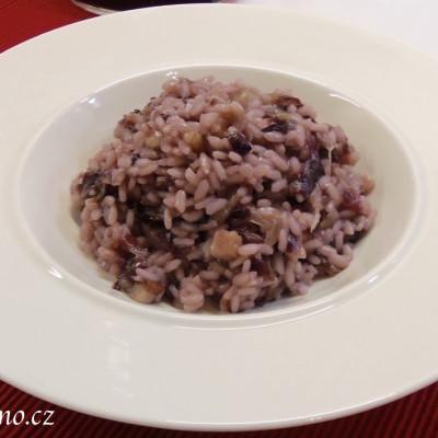 Čekankové rizoto