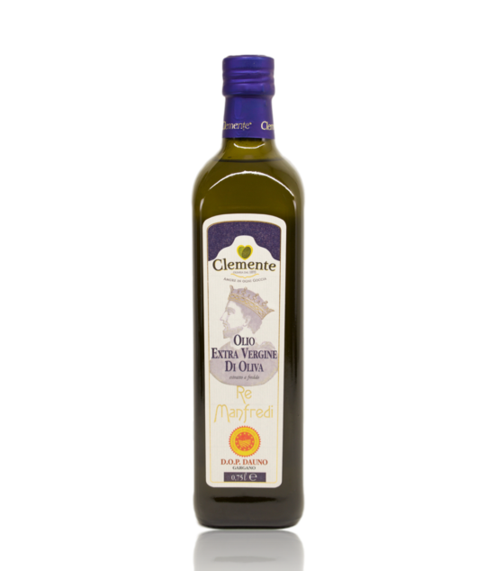 Extra panenský olivový olej Re Manfredi DOP