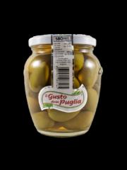 """Zelené olivy """"La Bella Cerignola"""" ve slaném nálevu"""