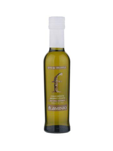 Extra panenský olivový olej Flaminio Natural Essence s černým lanýžem